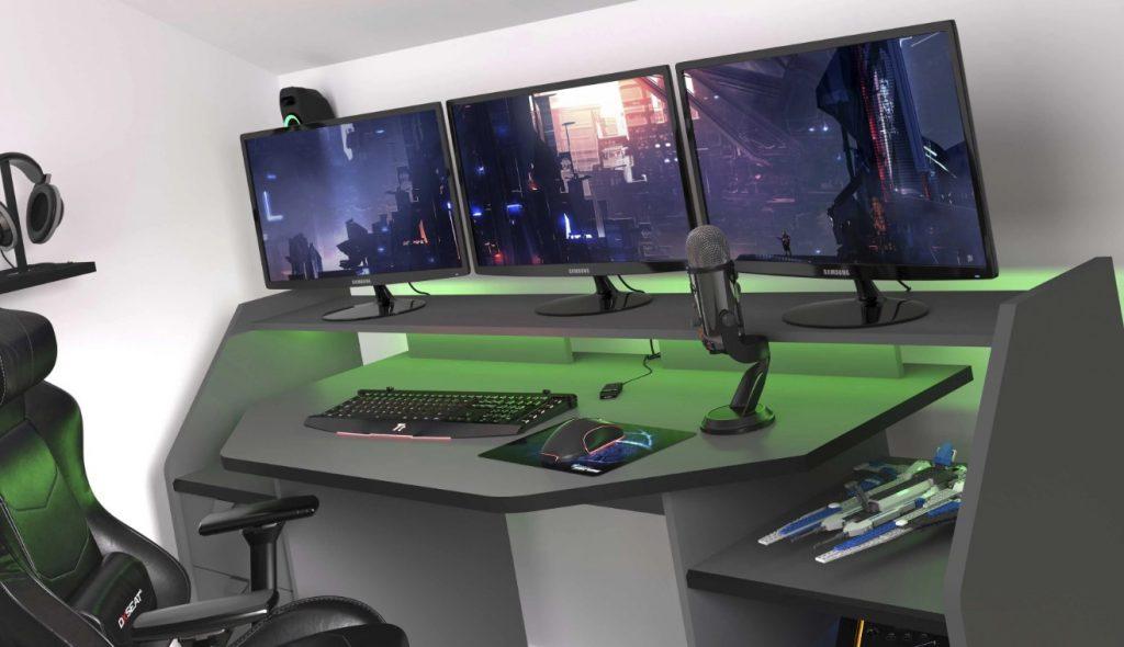 Bureau gaming configuration