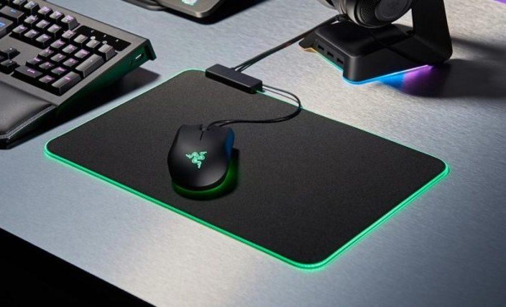 Tapis de souris pour le jeu vidéo